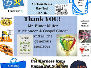 JCDC to Hold Fundraiser Gospel Sing and Auction May 3rd
