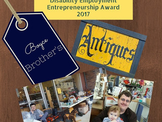Boyce Brother's Awarded for Entrepreneurship