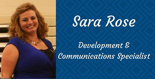 Sara Rose, Development & Communications Specialist for JCDC