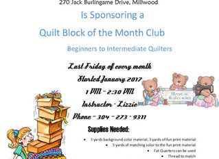 Who likes to quilt?  Want to learn?