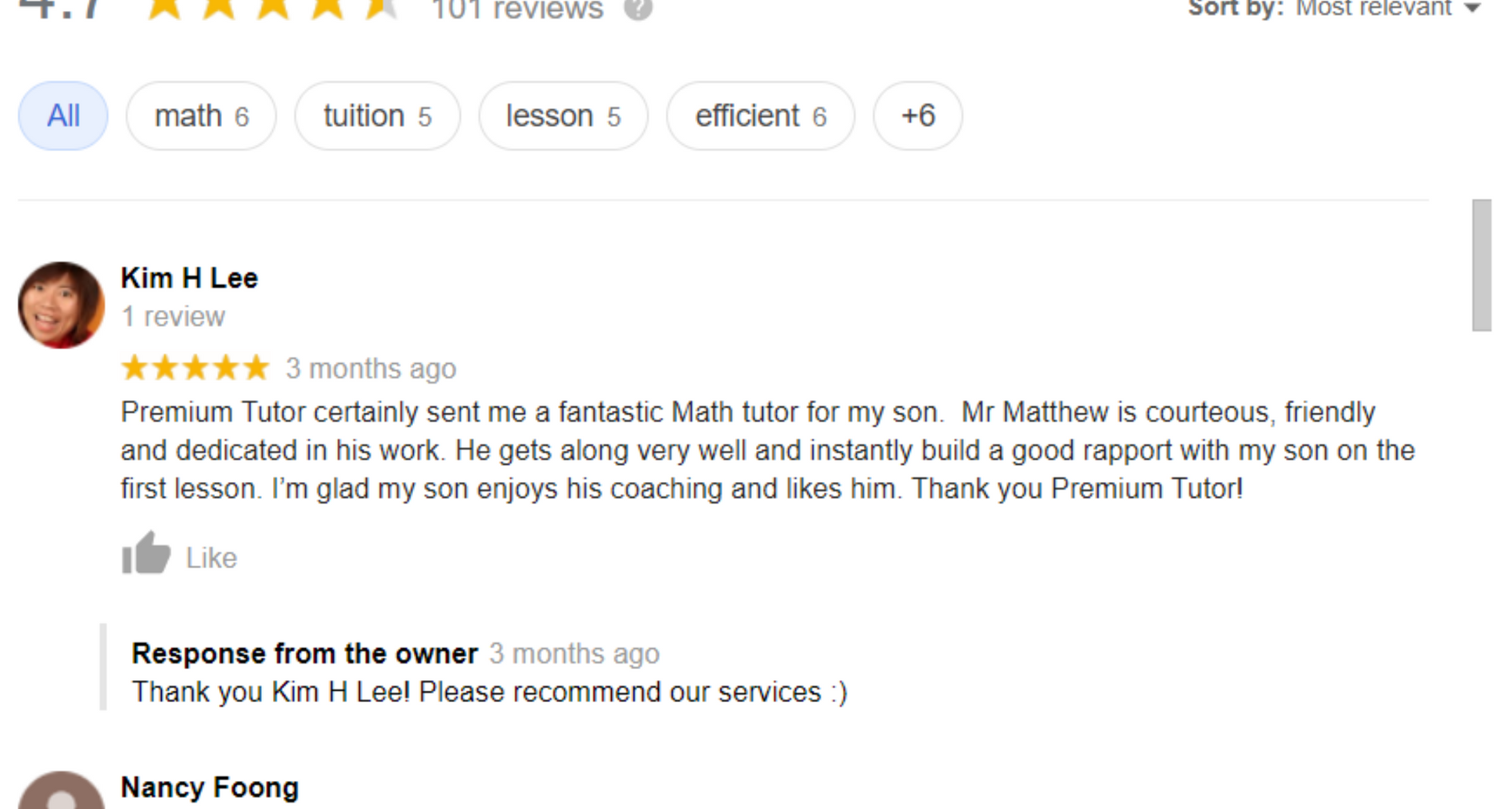 PHT Google Review Summary.png