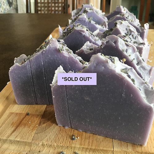 **SOLD OUT** Relaxing Lavender Soap
