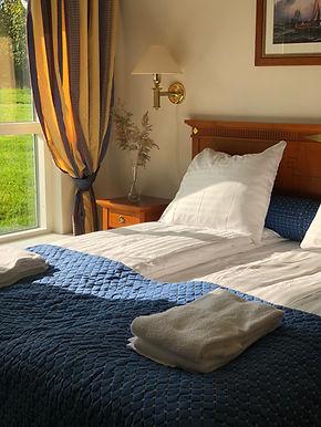 dobbeltværelses med eget bad på hotel Mø