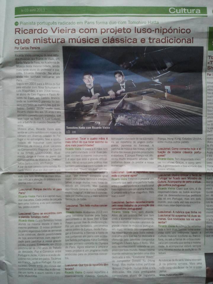 Jornal de Noticias, PORTUGAL