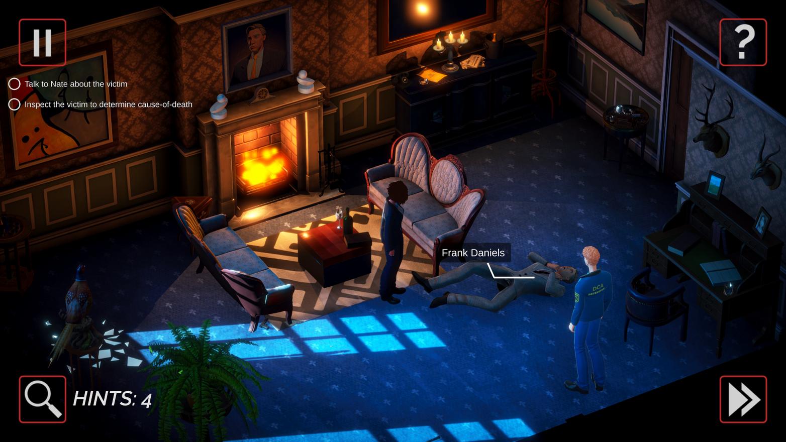 Frank Crime Scene