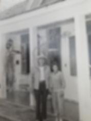 Aureliano Chaves e Vivi na casa sede da Fazenda da Serra Café Especial Tribeca