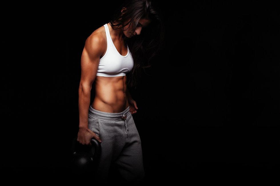 Crossfit woman black back.jpg