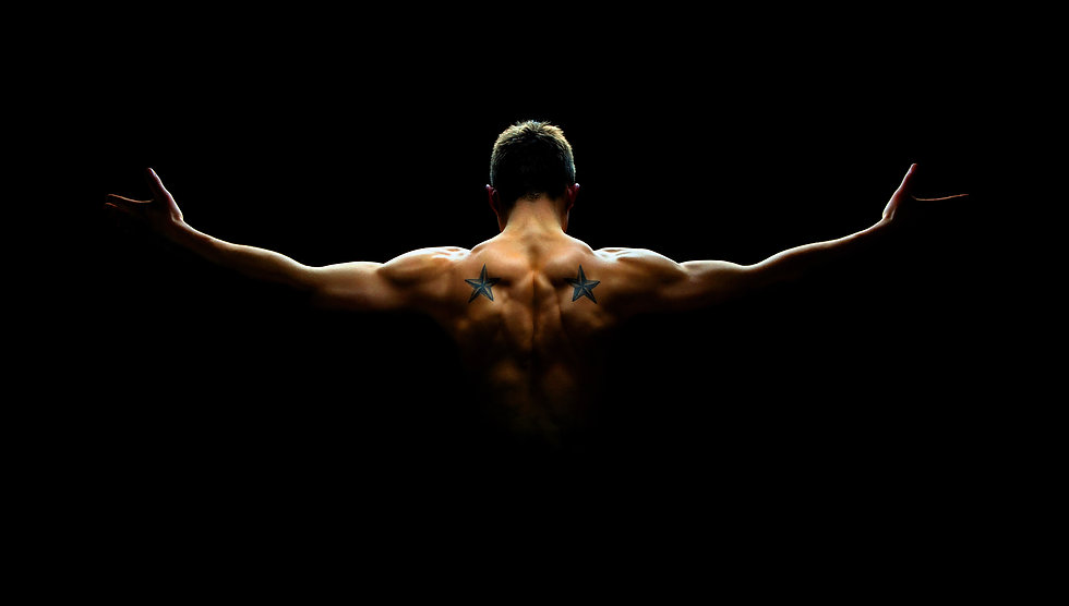 Man back turned black background.jpg