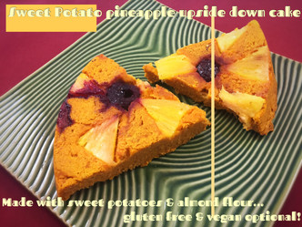 Sweet Potato Pineapple Upside Down Cake