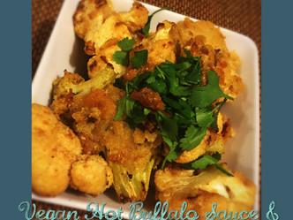 Vegan Hot Buffalo Sauce + Sourdough Cauliflower 'Wings'