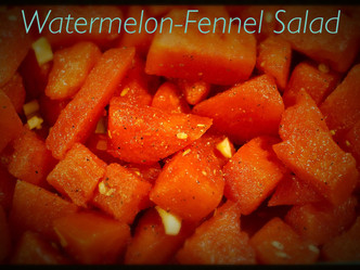 Watermelon-Fennel Salad