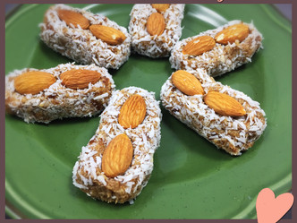 Date-Coconut Candy Bars