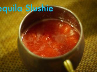 Watermelon-Grapefruit Tequila Slushie