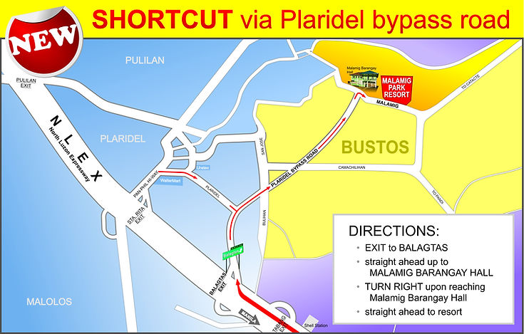 malamig park resort bustos bulacan shortcut via plaridel