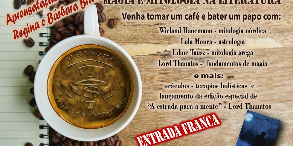 Café com Magia VIII - Mitologia e Magia na Literatura