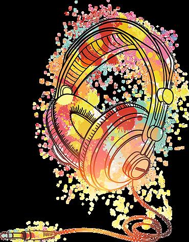 kisspng-poster-watercolor-headphones-5a6
