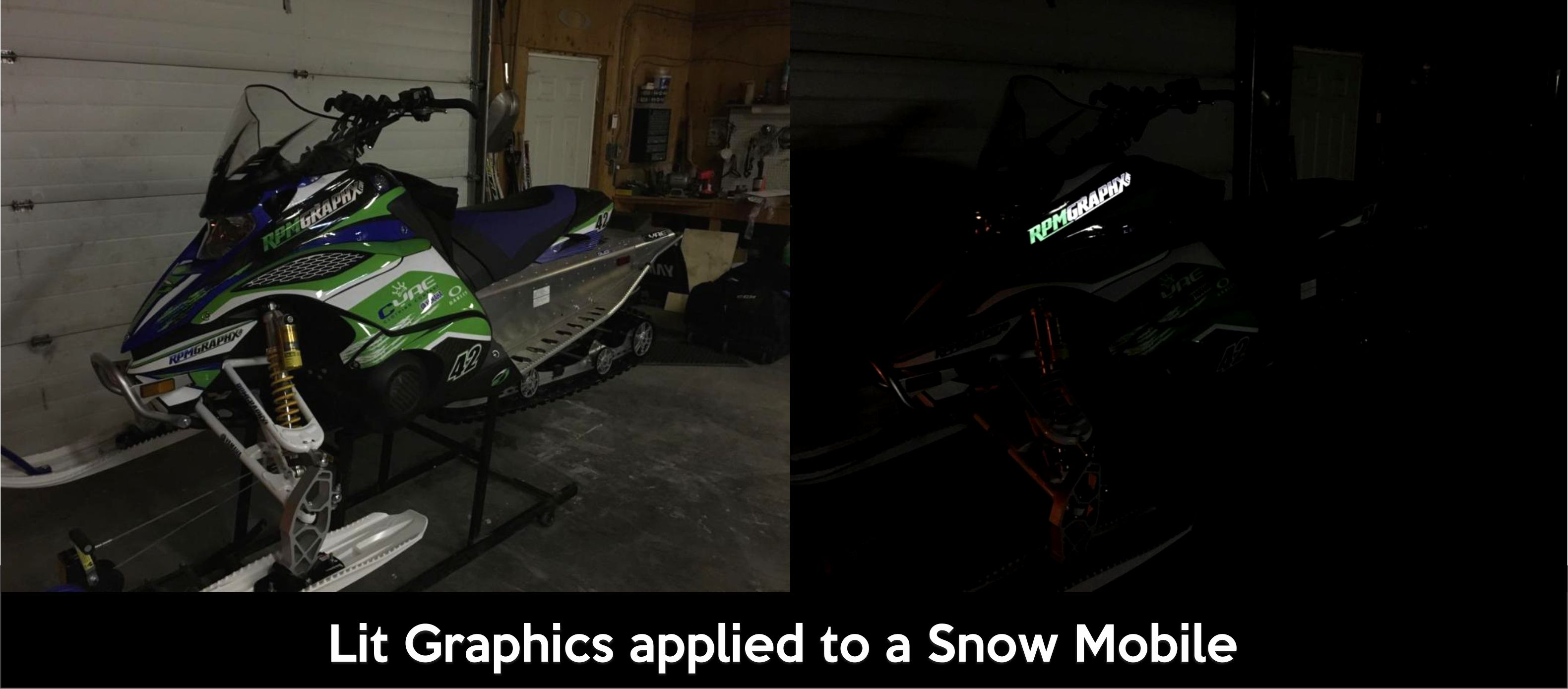 Snow Mobile Graphics