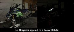 Snow Mobile Graphics
