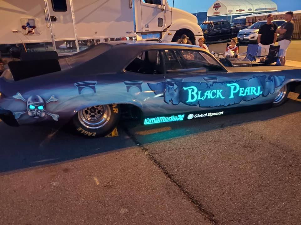 Black Pearl Jet Car