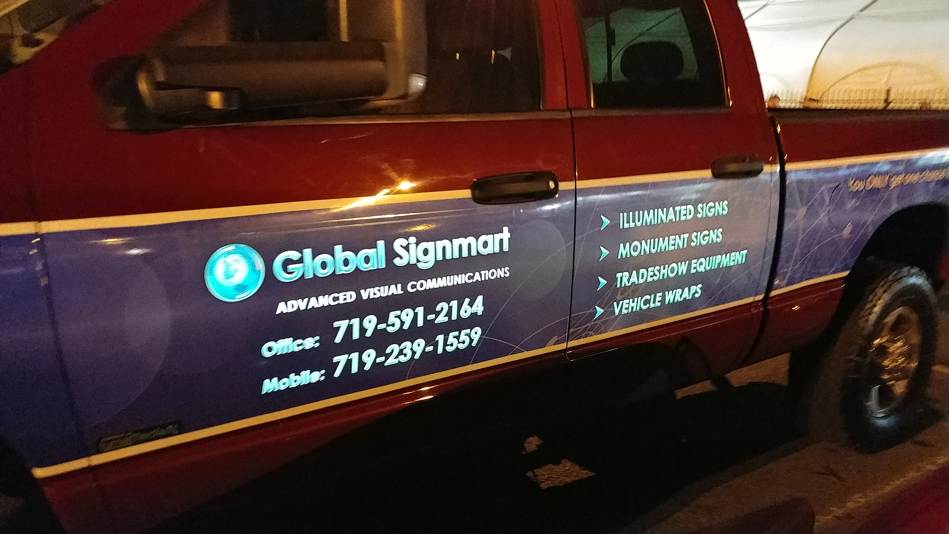 GSM Company Truck