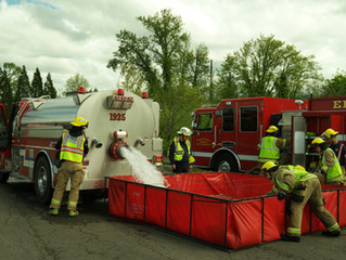 Firefighters Participate in Regional Weekend Training