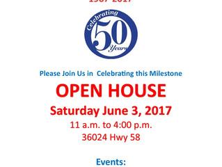 Pleasant Hill Open House: Saturday June 3