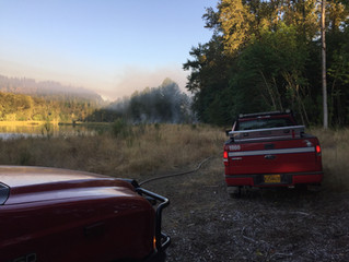 TNC Brush Fire 8/2/2017 - PRESS RELEASE