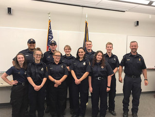 Fire District Swears in New Members