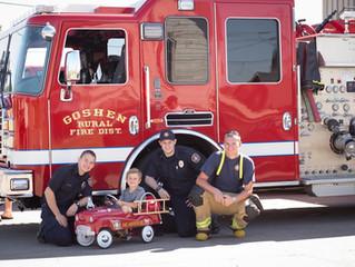 Association donates Pedal Car to Eugene Child