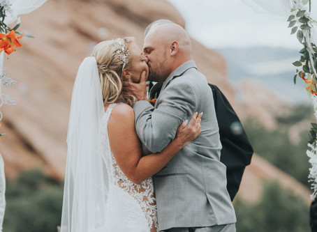 Jessica + Derrick Red Rocks Colorado Wedding