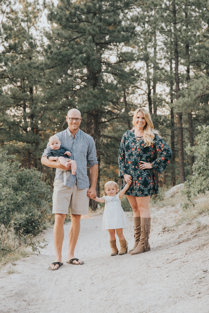 Brittany & Matthew | Family Session | Castle Rock, Co