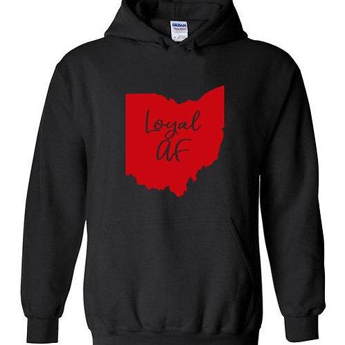 Ohio State Loyal AF Hoodie