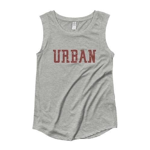 """Ohio State """"URBAN"""" Ladies Cap Tee"""