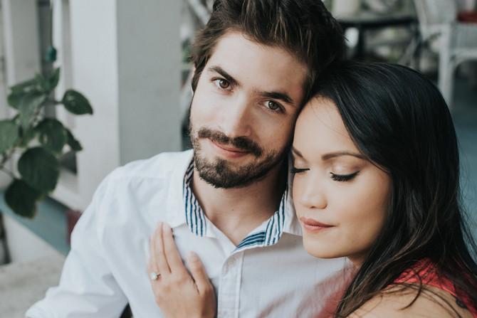 Kiesha + Luke | St. Augustine Engagement