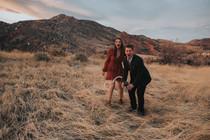 Mt. Falcon, Morrison Colorado Engagement Session | Stephanie + Nick