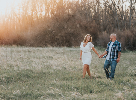 Jessica + Derrick | Cherry Creek State Park, Colorado Engagement