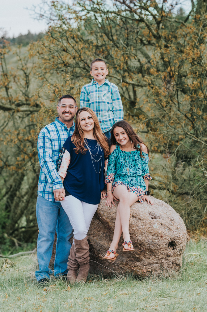 Alicia Family Session | Castle Wood Ranch | Franktown, Colorado