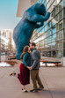 Heather + Alec | Downtown Denver Engagement Session