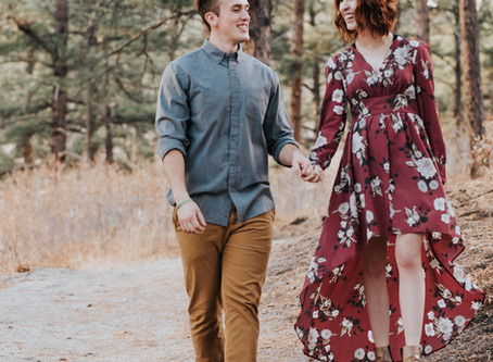 Brandee + Russell | Dawson's Butte Colorado Engagement