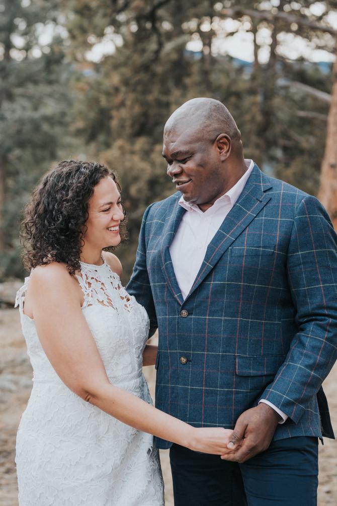 Michelle + Aloys Mt. Falcon, Morrison Colorado Mountain Engagement