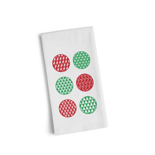 Color Ornaments 2 Flour Towel