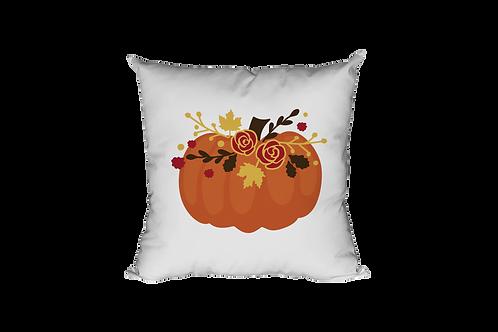 Pumpkin Flower Pillow Case