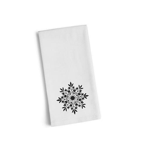 Snowflake Flour Towel