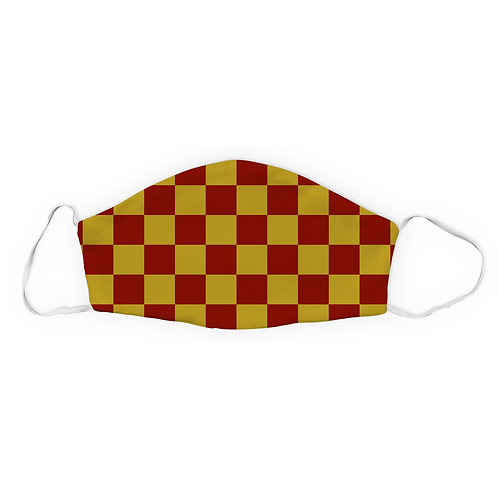 Red and Gold Checker