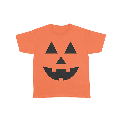 Youth Pumpkin Face T-Shirt