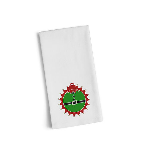 Elf Ornament Flour Towel