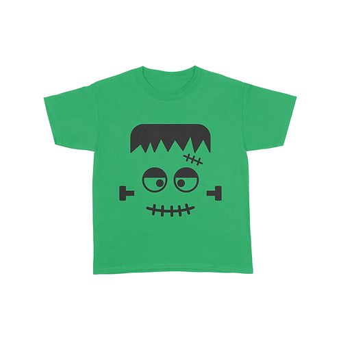 Youth Frankenstein Face T-Shirt