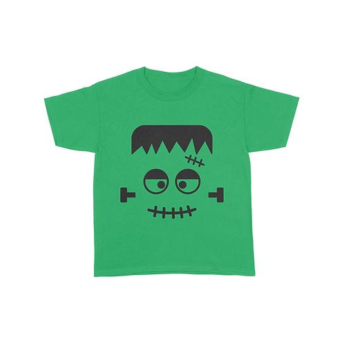 Youth Frankenstein Face T-Shirt