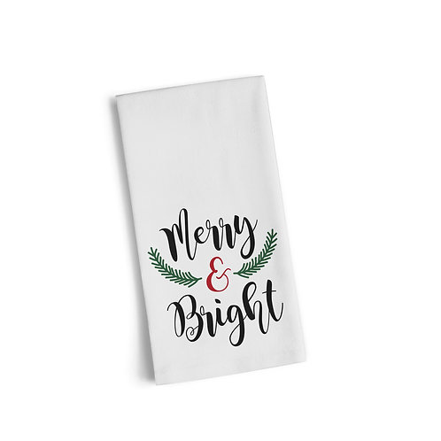 Merry & Bright Flour Towel