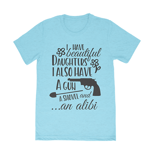 Beautiful Daughter Short Sleeve Unisex T-Shirt